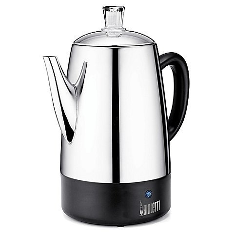 8-Cup Coffee Percolator (8 cups) by Bialetti