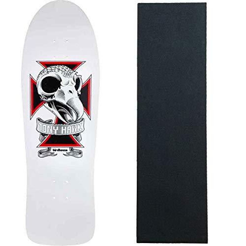 "Birdhouse Skateboard Deck Tony Hawk Skull 2 10.25"" with Grip"