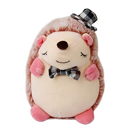 misszhang Toy,1Pc Cute Hedgehog Animal Plush Stuffed Doll Toy Cushion Sofa Chair Table Decor