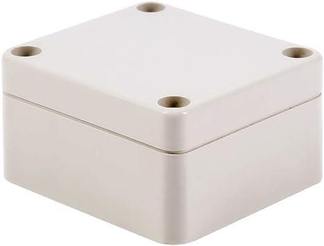 Caja de conexiones - Caja exterior impermeable de caja de conexiones Caja eléctrica externa para conexiones de energía eléctrica al aire libre (Size : S): Amazon.es: Bricolaje y herramientas