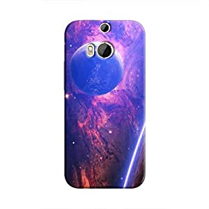 Cover It Up - Bright Planet View One M8 Hard Case