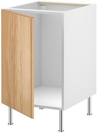 IKEA FAKTUM - Mueble bajo para fregadero, Norje roble - 50 cm: Amazon.es: Hogar