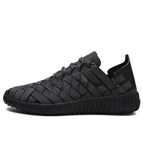 Chaussures Couple Pour Sport Respirantes Antidérapantes À Femmes Tissées Chaussures 1 De D'extérieur La D'été 44 Main Hommes Décontractées qwSwf