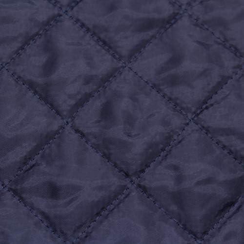 tissu doublure polyester bleu tres foncé foncé 100x140 cm