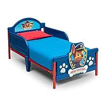 Nick Jr. 3D Plastic Toddler Bed, Paw Patrol
