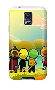 For Galaxy Case, High Quality Chibi Style One Piece Anime One Piece For Galaxy S5 Cover Cases