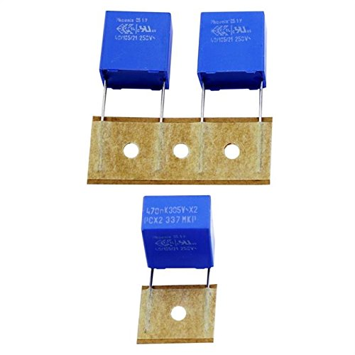 10x Condensador de supresió n 0, 47µ F 305V AC RM15 220633743474 470nF 47µF 305V AC RM15 220633743474 470nF IT-Tronics