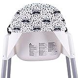 JANABEBE Cushion Compatible with high Chair IKEA
