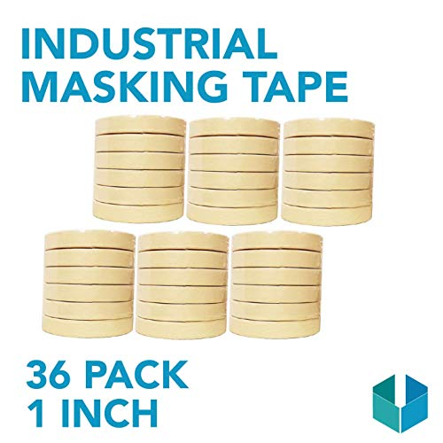 Industrial Masking Tape for General Purpose/Painting - CASE of 36-1