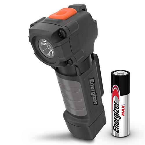 Energizer Mini Flashlight, IPX4 Water Resistant LED Flashlight, Durable Rugged Design, Pocket Flashlight, 1 AA Battery Included