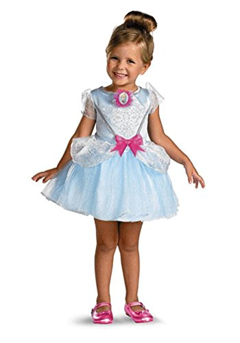 Cinderella Classic Toddler Costumes (Cinderella Ballerina Classic Toddler Costume - Toddler Small)