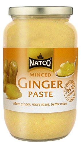 Natco Gehakte Gember Plakken 1 kg (Pack van 2)
