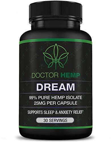 Doctor-Hemp-Dream-for-Sleep-Support-Anxiety-Relief-750mg-of-Pure-Organic-Hemp-Extract-Melatonin-Chamomile-Valerian-Root-L-Theanine-GABA-Natural-Sleep-Aid-Vegan-Non-GMO-30-Serv