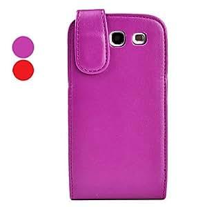 HOR Plegable PU Funda de cuero para Samsung Galaxy S3 I9300 (colores surtidos) , Rojo
