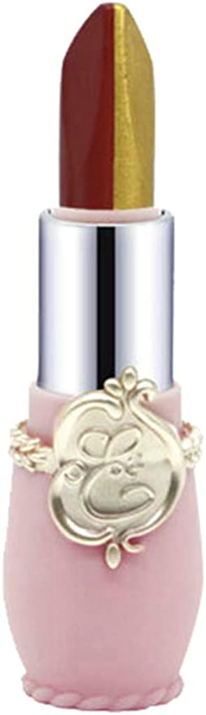 Chenchen Itd Lipstick Cosmetics, Women Beauty Makeup Lasting Moisturizing Lip Stick,Two-Tone Gold Lipstick