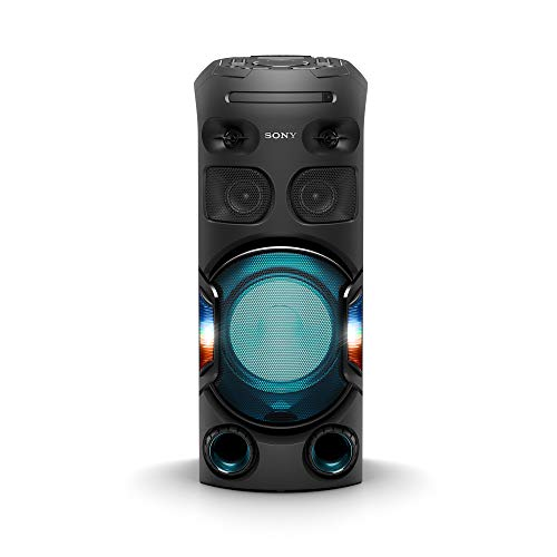 Sony MHC-V42D Party Speaker with Long Distance Bass Sound – Black