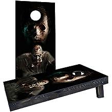 Custom Cornhole Boards Incorporated CCB200-2x4-AW-RH Walking Dead Zombies Cornhole Boards