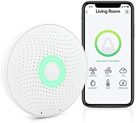 Airthings Wave Plus Indoor Air Quality Monitor with Radon Detection 2930