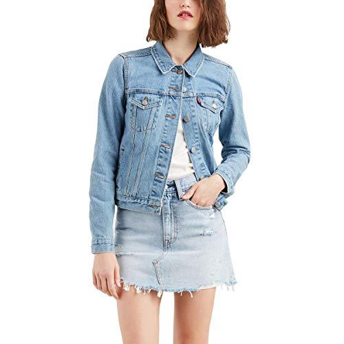 12c8202479bdd Jaqueta Jeans Feminina Azul Pelo Menor Preço E Melhores Condições Em ...
