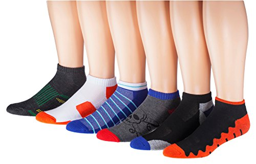 James Fiallo Mens 12-pack Low Cut Athletic Socks, Size 10-13 Fits shoe 6-12, 2886-12