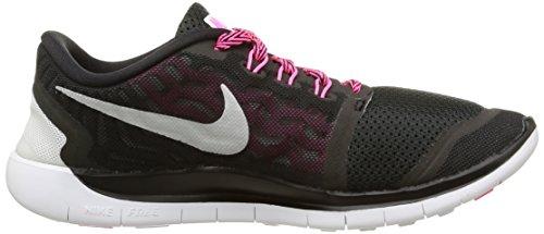 5 Pink 725114 006 Black GS Women's Silver Nike Free 0 qnWwzZWEH