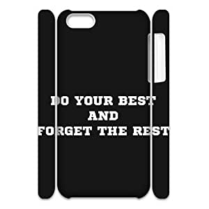 3D Do Your Best Cases For iPhone 5C White