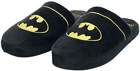 Batman Logo Chaussons noir