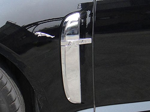 CKS Jaguar XF Chrome Side Vent Trims Set Models TO 2011 PRE-FACELIFT by CKS