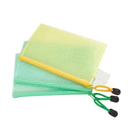 Amazon.com : Carpeta Bolsa de plástico eDealMax cremallera ...