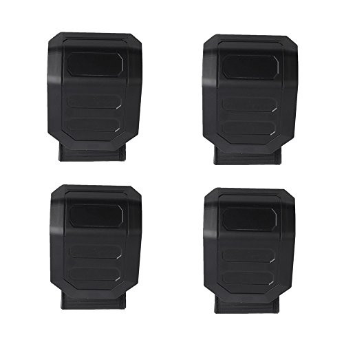 Universal UTV Windshield Clamps Clamps for UTV RZR Rhino Commander Maverick John Deere Gator Quick Connect Mounting(Pack of (Quick Release Windshield)