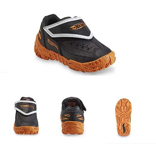 Price comparison product image Hot Wheels Fury Shoes,  Black / Orange,  11 Toddler