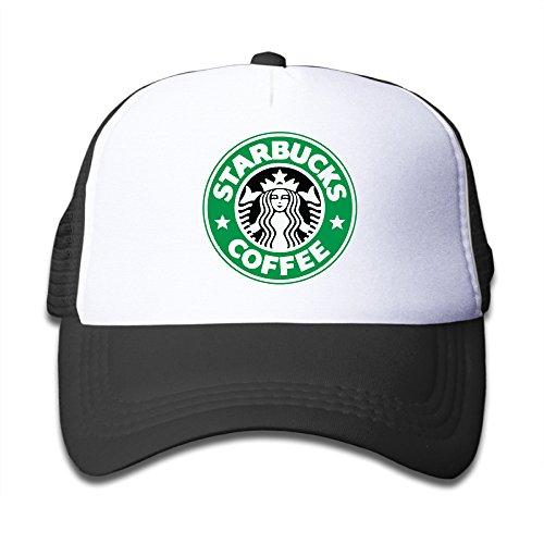 Price comparison product image Kid's Hats Starbucks Coffee Unisex Baseball Raglan Jersey Sun Cap Small Kids Cap