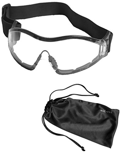 Mil-Tec Commando Goggles Para Clear by Miltec