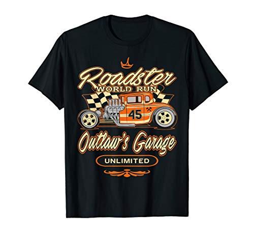 Hot Rod Street Customs Hot Rod - Men Women T Shirt