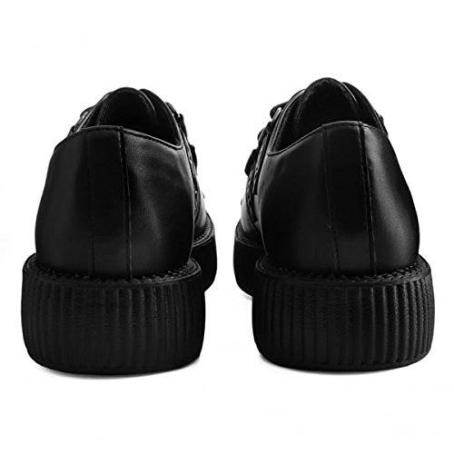 T Suola Borchie amp; Bassa Shoes Nero nero Viva Creeper K Setto U rnUqpr