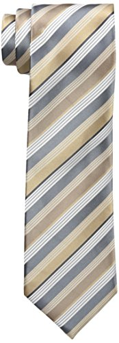 Geoffrey Beene Men's Doubtless Stripe Tie, Chino, One Size (Beene Geoffrey Mens Stripe)