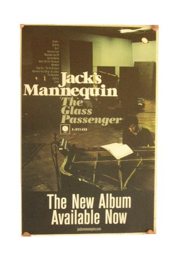 Jacks Mannequin Poster Jack's The Glass Passenger
