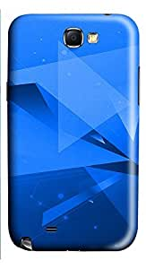 Samsung Note 2 Case Abstract Geometric NB 3D Custom Samsung Note 2 Case Cover