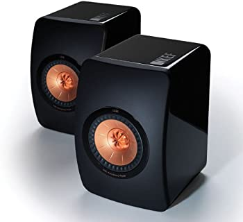 KEF LS50 Mini Monitor Piano Speakers