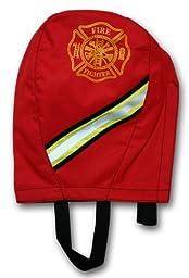 Lightning X Fireman\'s SCBA Air Pak Respirator Firefighter Mask Face Piece Bag for First Responder - Red