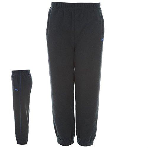 Slazenger Kids Micro Fleece Pants Infant Boys Children Jogging Sweat Bottoms Navy 2-3 Yrs