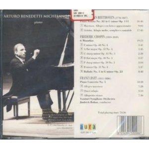 Beethoven: Sonata No. 32, Op. 111 (Bregenz 1988) / Chopin: 6 Mazurkas; Ballade No. 1 (Brescia 1967) / Liszt: Piano Concerto No. 1 (Tokyo 1965) (The Arturo Benedetti Michelangeli Edition) by Aura