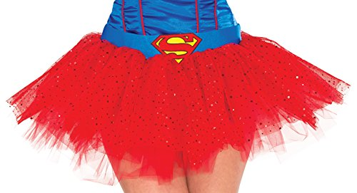 Rubie's Women's Dc Comics Supergirl Tutu Skirt, Multi, One Size (Supergirl Sexy Costume)
