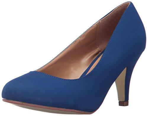 Miles Brinley Co Femmes Robe Pompe Régulière Et Large Tailles Bleu