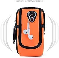 HLD Brazalete Deportivo, Running Gym Deportes Universal Smartphone Brazo Muñequera Impermeable con Orificio Auriculares para iPhone X 8 7 6S 6 Plus Todos los Smartphone de 3,5-6,0