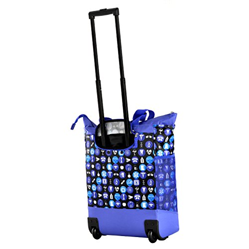 Buy rolling shopper tote