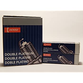 6 PCS *NEW* -- DENSO #3174 -- DOUBLE PLATINUM Spark Plugs -- PK16PR-P11