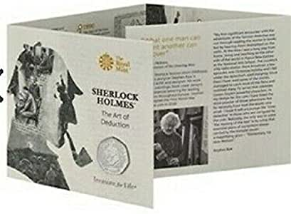 TGBCH Sherlock Holmes Conan Doyle Sir 2019 50p Coin Royal Mint Packaged Pre Sale: Amazon.es: Juguetes y juegos