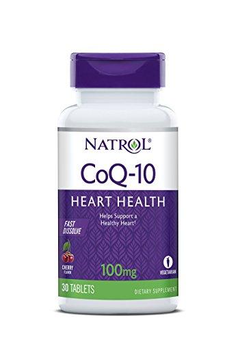 Natrol CoQ-10 100mg Fast Dissolve Tablets, 30-Count