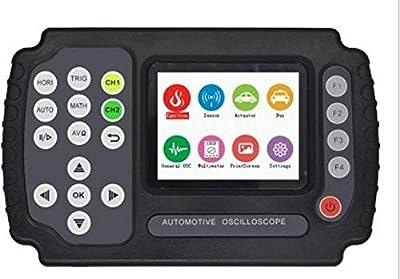 MeterTo LCD Portable Digital Automotive Oscilloscope ADO104 Four Analog Channels 100MSa/S Bandwidth 10MHZ USB Storage 4K + Multimeter